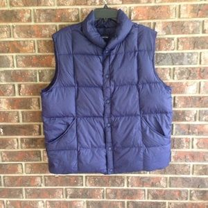 Lands End Puffer Vest Size Large